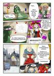 COMMISSION: Frosti the Snow Sprite - Page 1 by FieryJinx