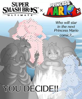 Princess Mario - Super Smash Bros Event by FieryJinx