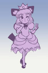 Princess Pichu Sketch by FieryJinx