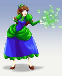 Princess Luigi by FieryJinx