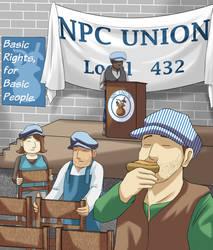 Adventurers - NPC Union by FieryJinx