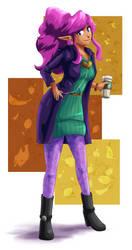 COMMISSION: Lust (Autumn Fashions) by FieryJinx