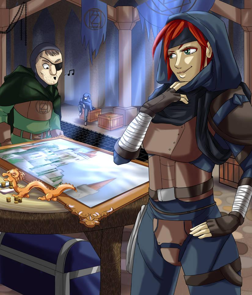 Adventurers - Thieves Guild by FieryJinx
