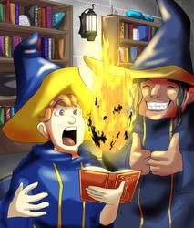 Adventurers - Wizards Guild by FieryJinx