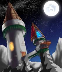 Adventurers - Wizards Tower by FieryJinx