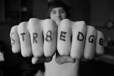 Straight Edge by BringSvenTheHorizon