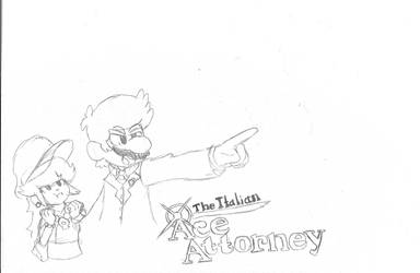 The Great Italian Ace Attorney by Bros-Productions
