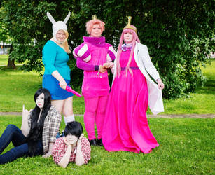 Adventure Time group by anttaDEI