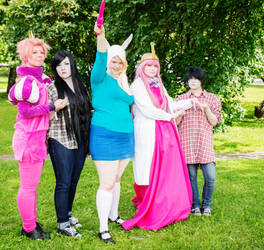 Adventure Time group 2 by anttaDEI