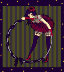 Bored Circus Girl by DarkDevi