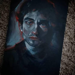 Will Graham - painting by DarkDevi