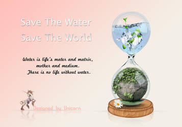 Save the water Save the world by shiny-shadows-Art