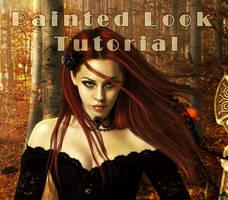 Black widow Tutorial by shiny-shadows-Art