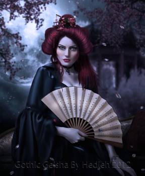 Gothic Geisha by shiny-shadows-Art