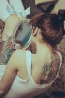 Her mirror by Basistka
