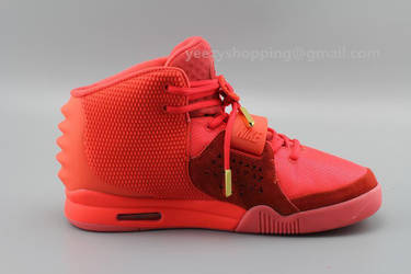 4bf15100d Replica Air Yeezy 2 Max 2014 Red October by yeezyshopping on DeviantArt