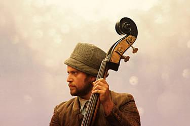 Double Bass by JamesWinslett
