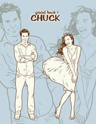 Good Luck Chuck pt2 by Cloxboy
