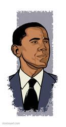 Obama by Cloxboy