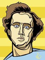 Andy Kaufman by Cloxboy
