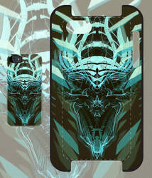 DK Skull green iPhone and iPod case by Cloxboy