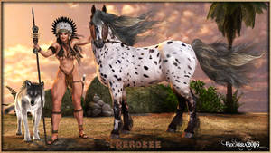 The Cowgirls - Cherokee by Becarra