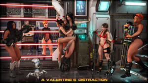 A Valentine's Distraction by Becarra
