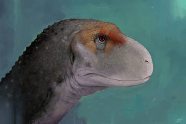 Ekrixinatosaurus portrait by tnilab-ekneb121