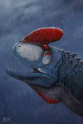 ludosaurus Noctornis -fictional- by tnilab-ekneb121