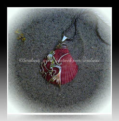 'Little mermaid' sterling silver pendant SOLD by seralune