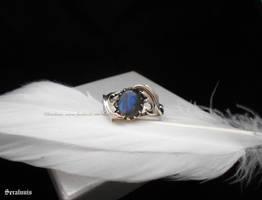 'Galadriel', handmade sterling silver ring by seralune