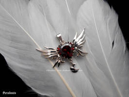 'Silver Millennium', sterling silver pendant by seralune