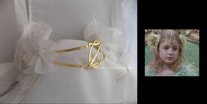 'Return to Oz', handmade gold-plated circlet by seralune