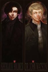 Sherlock BBC: bookmark by akamenashi