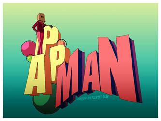 3D: PAPMAN by akamenashi