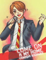 HSJ: Come on a my home by akamenashi