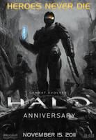 Halo: Heroes Never Die... by DANYVADERDAY