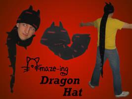 Amaze-ing Dragon Hat by Amaze-ingHats