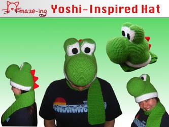 Amaze-ing Yoshi Hat by Amaze-ingHats on DeviantArt 691d957f890