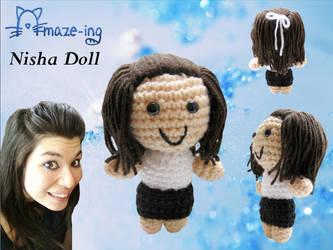 Amaze-ing Personalised Doll by Amaze-ingHats