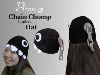 Amaze-ing Chain Chomp Hat 2 by Amaze-ingHats