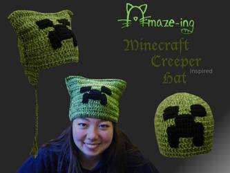 Amaze-ing Minecraft Creeper Hat 2 by Amaze-ingHats