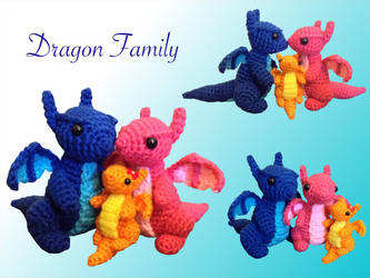 Dragon Family by Amaze-ingHats
