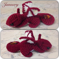 January Dragon by Amaze-ingHats
