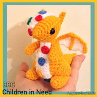 Children in Need Dragon by Amaze-ingHats