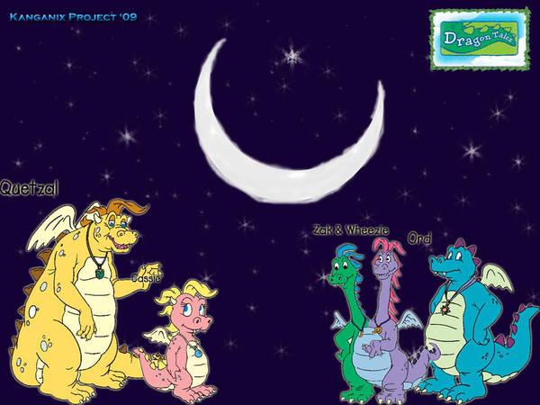 Dragon Tales Wallpaper By Kangythekangaroo On Deviantart