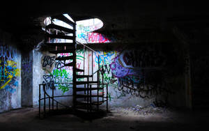 staircase by aestheticasylum