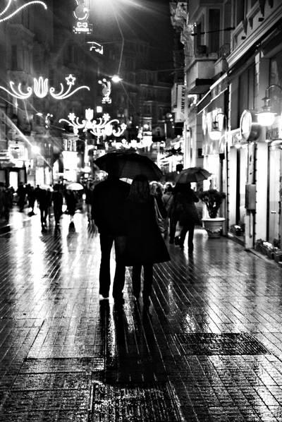 26- Istanbul Under My Umbrella by salihagir