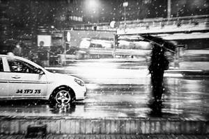 88- snowing... by salihagir