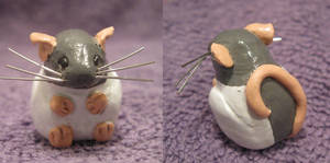 Clay Rat 1 by mistressjera